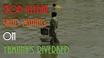 यमुना नदी के तट पर हो रहे अवैध खनन पर हमारी  रिसर्च रिपोर्ट