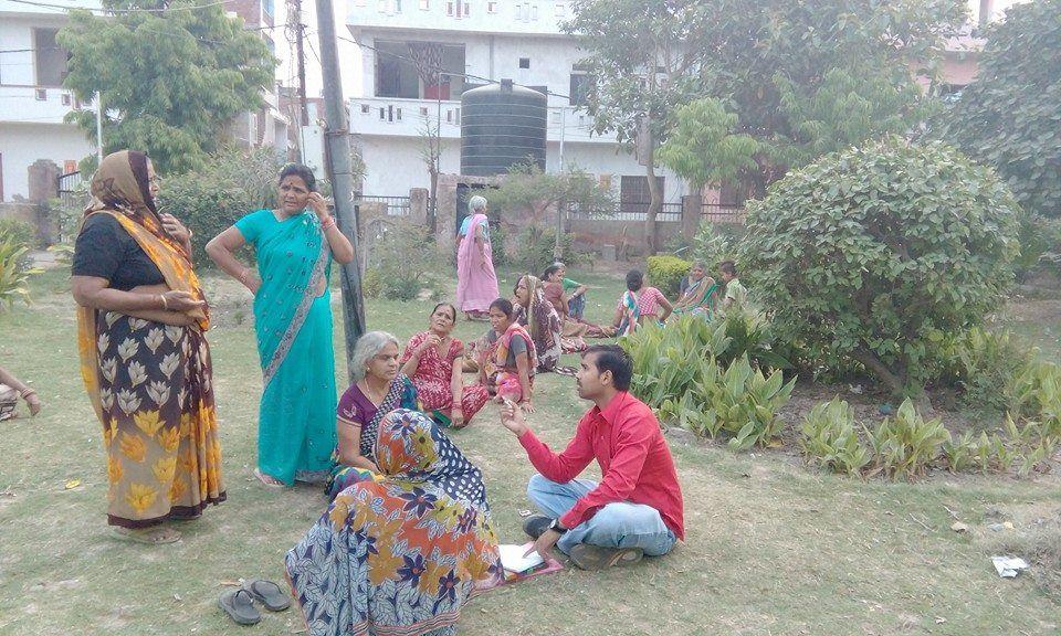 प्रशांत शर्मा कानपुर नगर के बर्रा