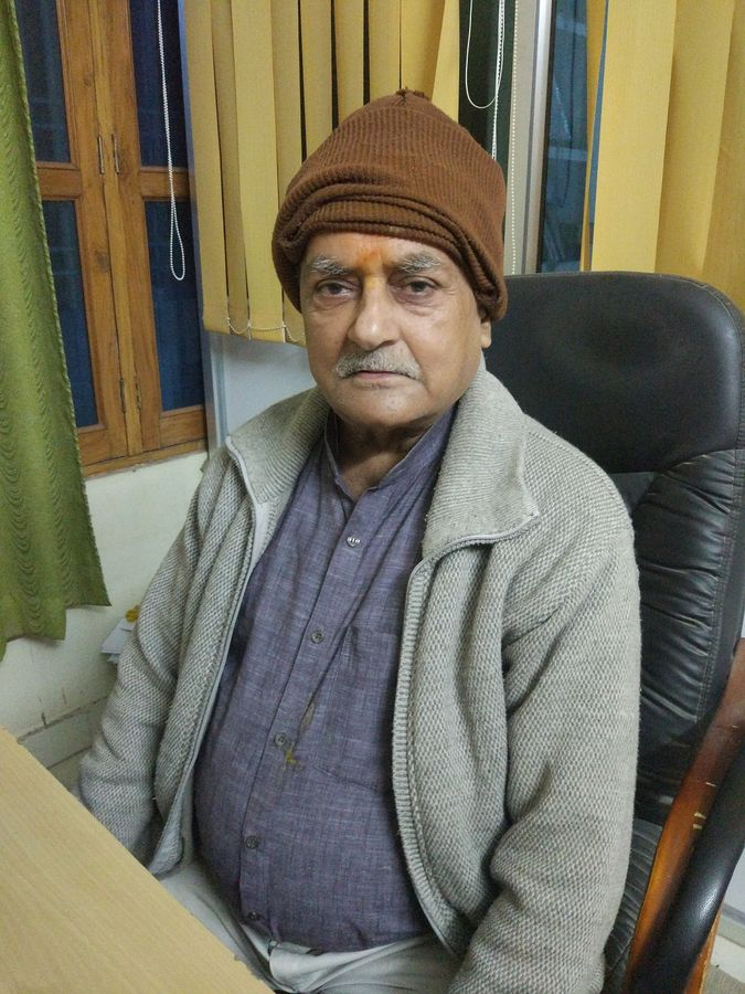 Name : Prof Uday Kant ChoudharyDesignation : Retired P