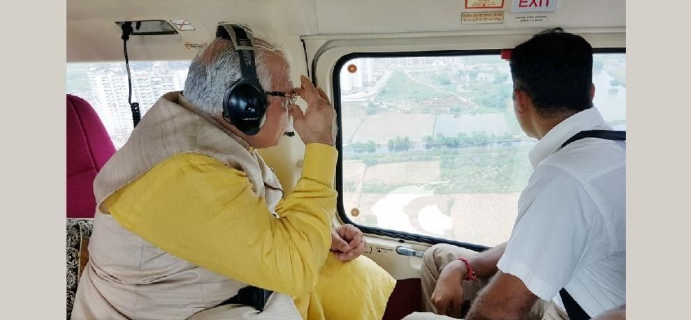 C.M. साहेब ने कह ही दिया, जहाँ भूगर्भ रिचार्ज झील होनी चाहिए थी, वहाँ रोड यानि NH -8 है , समस्या पुर