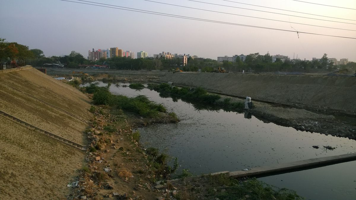 What is Kukrail Nala?Kukrail nala, a fourth order (medium stream) tributary of river Gomti. It Kukra