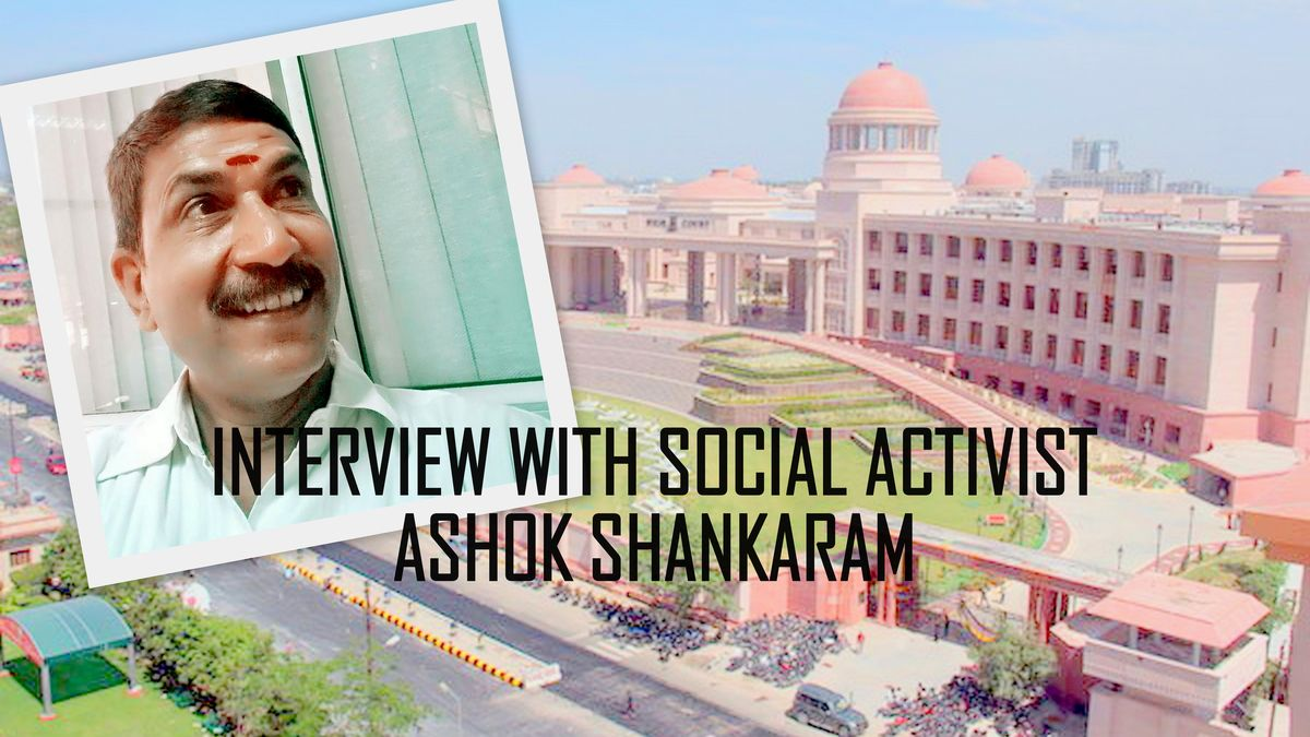 Interview with Social activist Ashok Shankaram over Lucknow high court's pond encroachment caseप्रशन