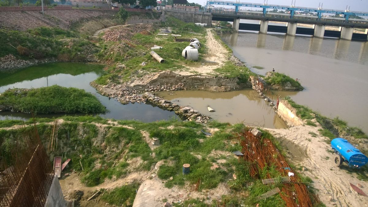 HAIDER CANAL-SITE VISIT