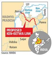 Ken betwa River linking project gets wildlife board clearance for the first phase