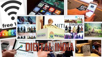 How much digital is Digital India?