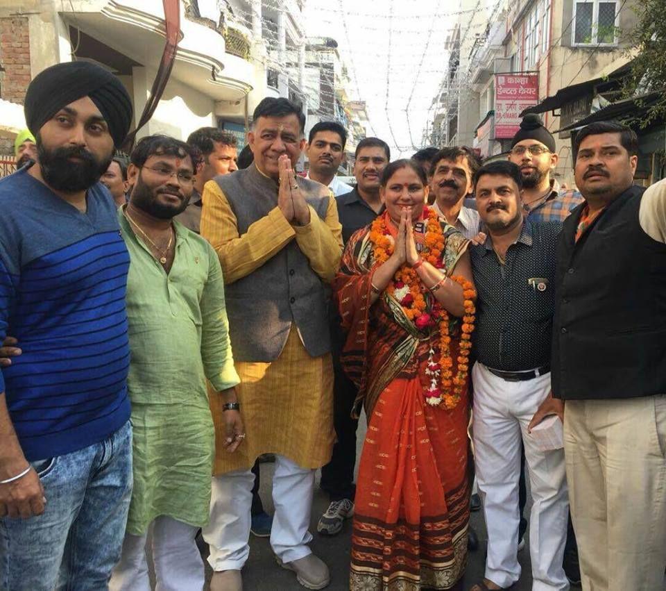 नाम - नमिता मिश्रा  पद – भाजपा पार्षद, कानपुर नगर लक्ष्य – नारी सशक्ति