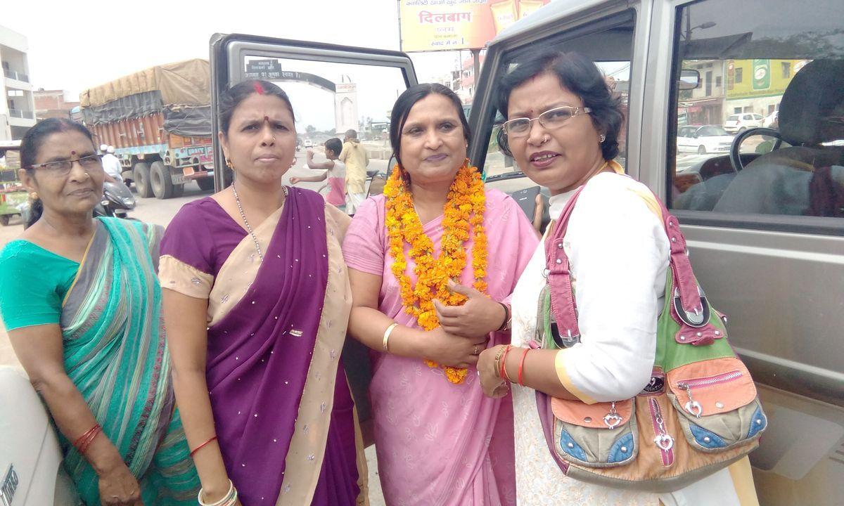 Name- Dr Deepti SachanDesignation- Congress State General Secretary, Congress,