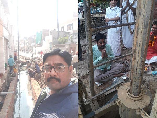 नाम- राजेश कुमार केशरीपद- पार्षद (भाजपा), वार्ड - 40 खोजवां<