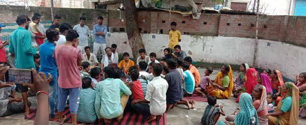 कानपुर के एकमात्र गुजराती मंदिर के सौन्दर्यकरण हेतु लिए गए अहम निर्णय-मेरे ट्रा