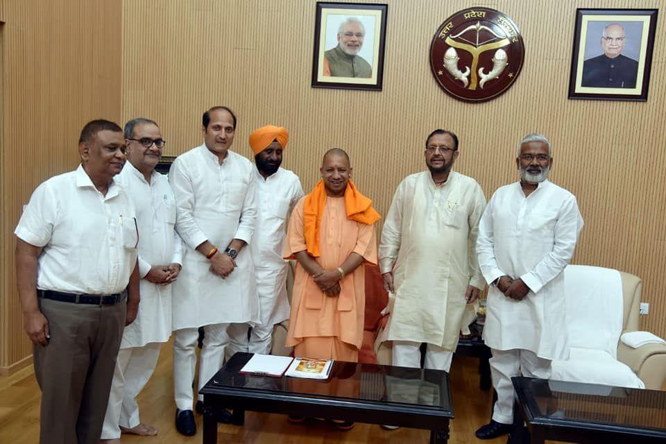 भारतीय जनता पार्टी के कद्दावर राजनेताओं में शुमार श्री अतुल गर्ग उत्तर प्रदेश की 17वीं विधानसभा सदस्