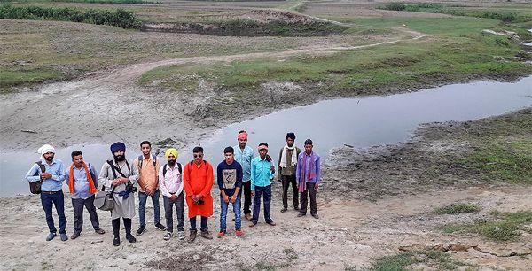 गोमती बचाओ अभियान के अंतर्गत लखीमपुर खीरी में गोमती सेवा समाज की आठवीं पद यात्रा-उत्तर प्र