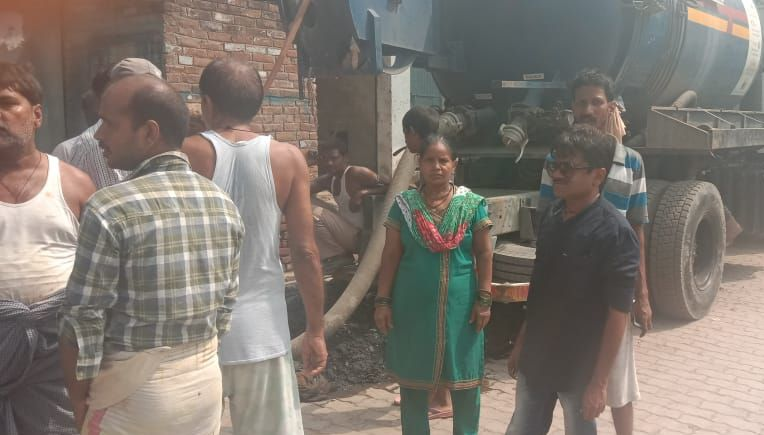 ट्रांसपोर्ट नगर वार्ड, कानपुर के रत्तुपुरवा में सीवर समस्याओं के स्थायी समाधनों से जनता को कराया अवग