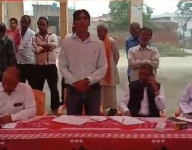 न्योतनी के इंदिरानगर वार्ड में किया गया स्वास्थ्य शिविर का आयोजन, 250 रोगियों में वितरित की गयी दवा-
