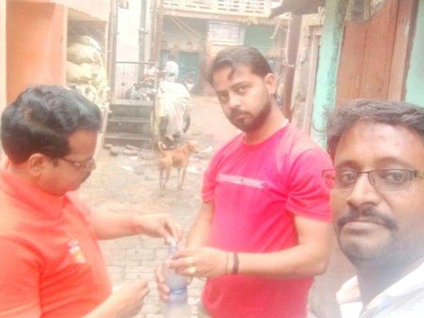 आर्यनगर विधानसभा के दानाखोरी वार्ड में डेंगू से बचाव के लिए नि:शुल्क होम्योपैथिक दवा वितरण कैंप-आर्य