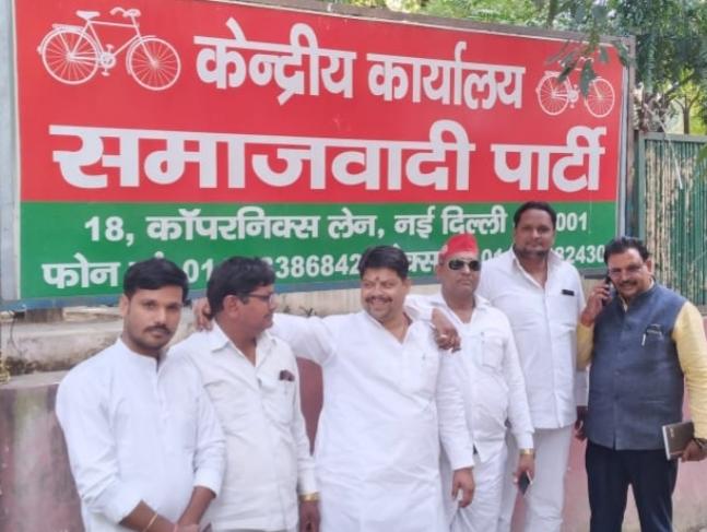 मनमोहन गामा को बनाया गया मजदूर सभा का जिलाध्यक्ष - समर्थकों ने जताई नाराजगी-समाजवादी पार्टी महानगर अ