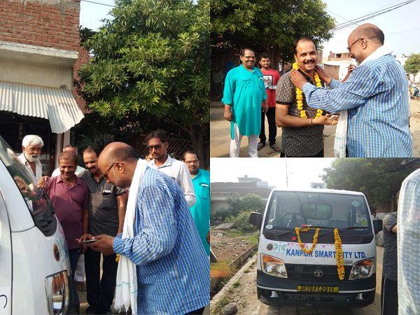 नौबस्ता पूर्वी वार्ड, कानपुर में स्वच्छता के प्रति जागरूकता के लिए लिया गया अहम कदम-किसी भी क