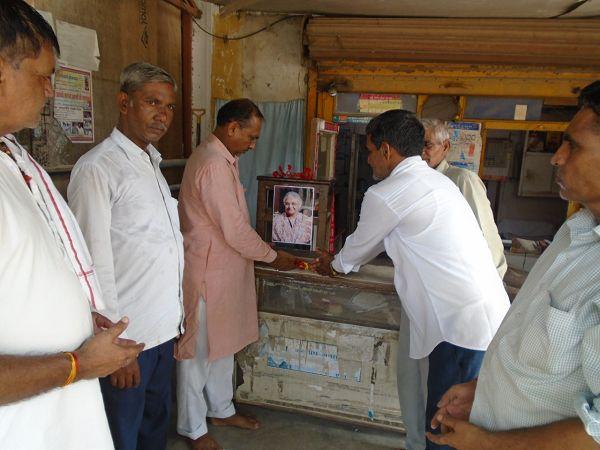 कानपुर की प्रदेश कमिटी ने पूर्व दिल्ली मुख्यमंत्री स्वर्गीय शीला दीक्षित को अर्पित किये श्रृद्धासुमन