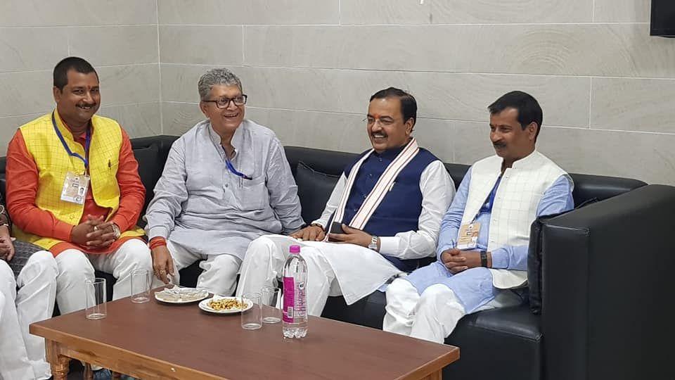 श्री वेद प्रकाश गुप्ता फैजाबाद लोकसभा निर्वाचन क्षेत्र की के पांच विधानसभाओं में से एक अयोध्या विधान