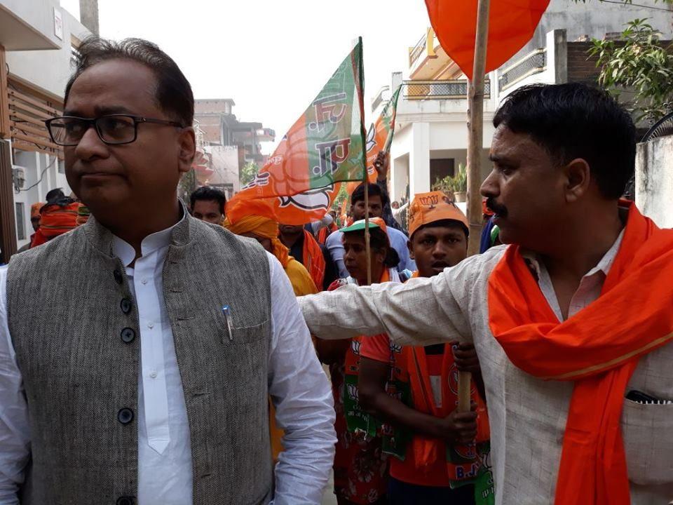 नाम : राम किशोर वर्मा  पद : भाजपा कार्यकर्ता, फैजुल्लागंज प्रथम वार्ड नं. 54, लखनऊ