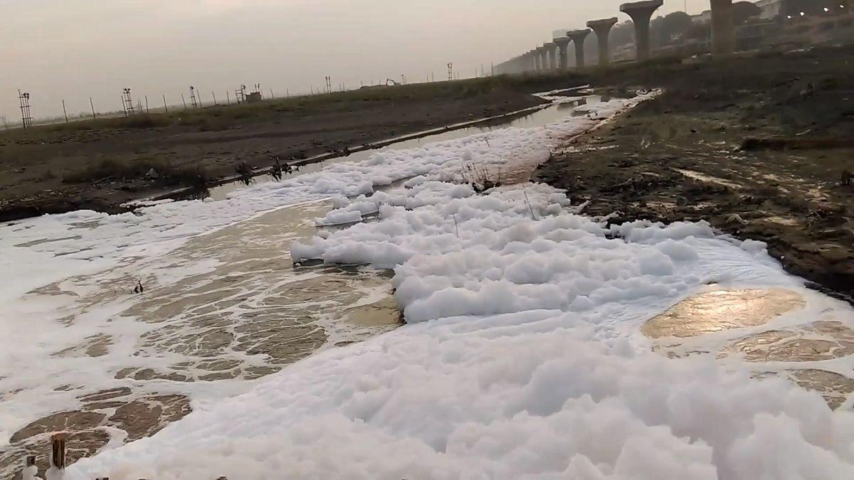 हिंडन नदी में डीओ का स्तर शून्य : खतरे में जलीय एवं मानवीय जीवन - यूपी प्रदूषण नियंत्रण बोर्ड रिपोर्