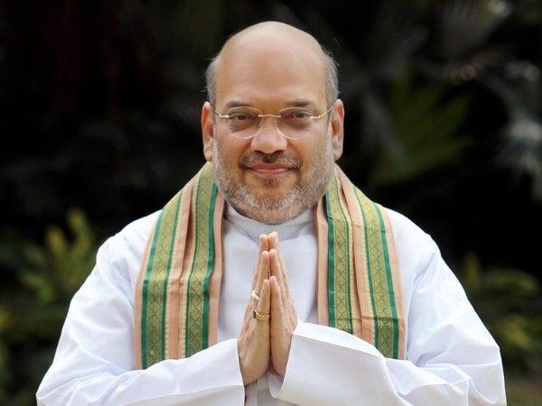 श्री अमित शाह, जो भारतीय राजनीति का जाना पहचाना नाम हैं और भारतीय जनता पार्टी के सशक्त स्तंभ के रूप