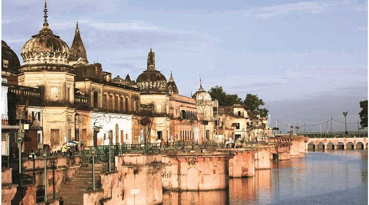 _सरयू के दक्षिणी तट पर बसी अयोध्या नगरी को मर्यादा पुरुषोत्तम श्री राम के पुरखों की नगरी माना जाता ह