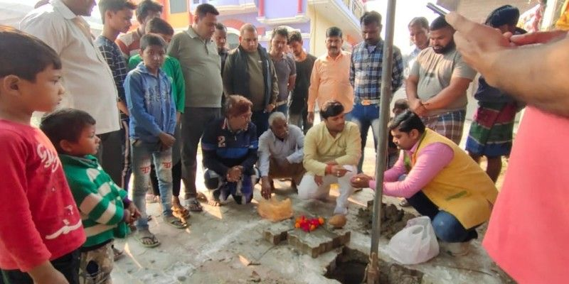 न्यू हैदरगंज वार्ड के पालीपुरम क्षेत्र में किया सबमर्सिबल का उद्घाटन-स्थानीय ज