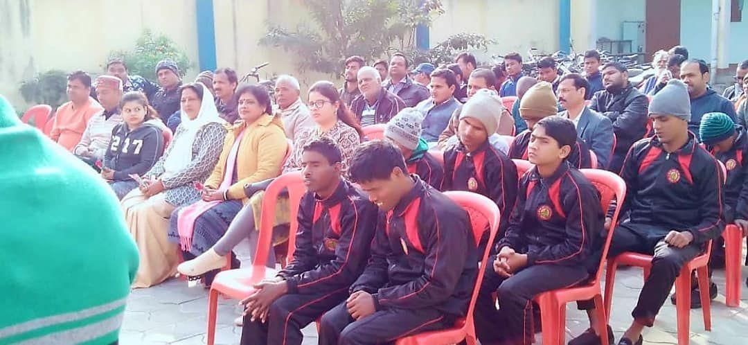 श्री राम अवध अंध विद्यालय में मनाई गयी लुईस ब्रेल जयंती, नेत्रहीन छात्रों को उपलब्ध कराये जायेंगे अध