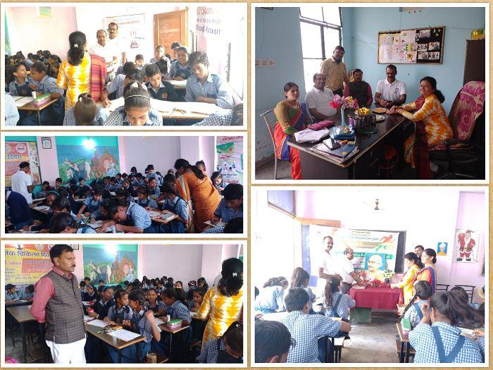 फिट इंडिया मूवमेंट के उपलक्ष्य में शारदा पब्लिक स्कूल में किया गया रंग भरो प्रतियोगिता का आयोजन-दिना