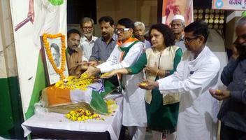 कानपुर महानगर कांग्रेस कमेटी – पत्रकार शहीद गणेश शंकर विद्यार्थी के 88वें बलिदान दिवस पर श्रृद्धांजलि सभा का आयोजन