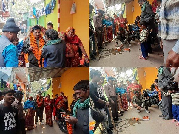 कानपुर स्थित हरबंश मोहाल वार्ड-76 में प्रारंभ हुआ विकास कार्य-