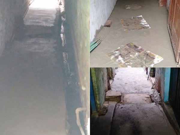 कानपुर के सीसामऊ वार्ड के अंतर्गत गलियों के सी.सी निर्माण कार्य का शिलान्यास-क्षेत्र के सभी विकास का