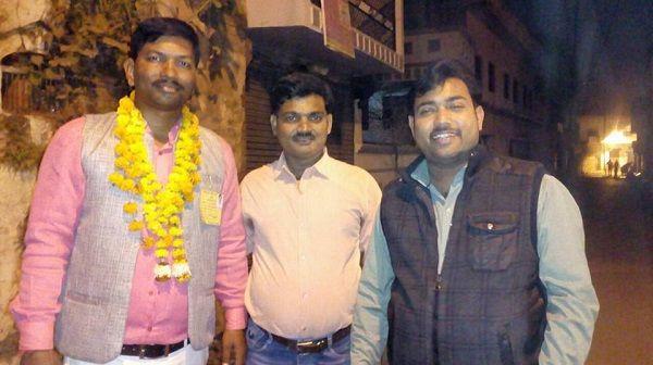 नाम : रामनंदन तिवारी पद : पार्षद (भाजपा), राम मनोहर लोहिया, वार्ड 41, अयोध्या</