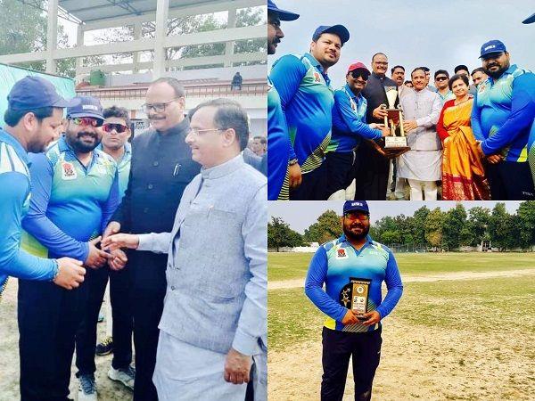 लखनऊ नगर निगम द्वारा किया गया क्रिकेट मैच का आयोजन-लखनऊ नगर के द्वारा युवा खिलाडियों को अपनी खेल क्ष