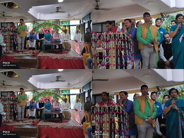 राजाजीपुरम में मेयर संयुक्ता भाटिया द्वारा किया गया व्यापार मंडल के सदस्यों व पार्षदों को सम्मानित-र