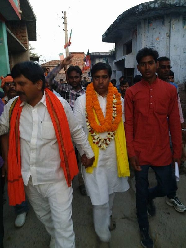 नाम : संजय यादव  पद : विधायक (भाजपा) सिकंदरपुर विधानसभा, बलिया (उ.प्र) नवप्रवर्तक कोड : 711846