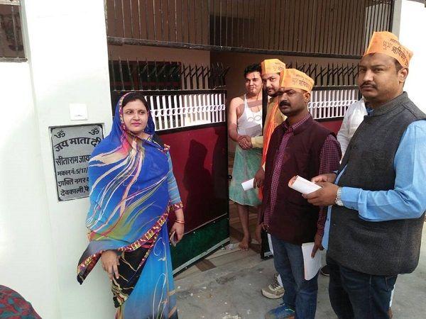नाम : डॉ. नीलम सिंह पद : पार्षद (भाजपा), बड़ी देवकाली, वार्ड-14, अयोध्या