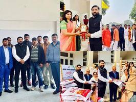 लखनऊ के अंतर्गत हिंद नगर वार्ड-28 में पार्षद प्रतिनिधि ने की विभिन्न कार्यक्रमों में शिरकत