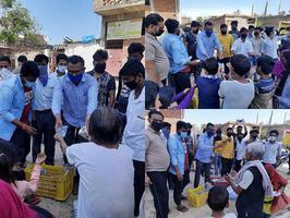 कानपुर के जरौली वार्ड में कोरोना से निपटने की तैयारी की गयी