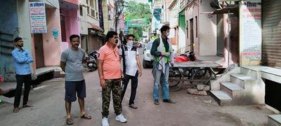 कोरोना से आमजन को सुरक्षित रखने के लिए पार्षद द्वारा किए गए विभिन्न प्रयास